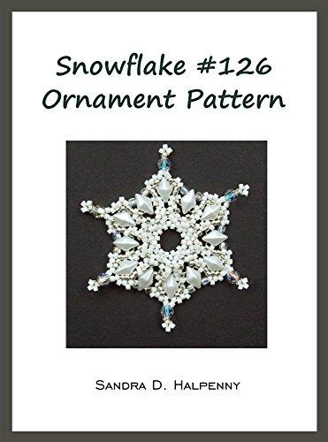 Snowflake #126 Ornament ()