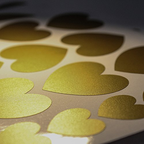 FOAL Gold Wall Decal Dots ,Removable Gold Wall Decor -Window
