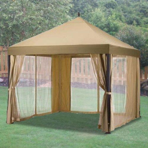 Garden Winds Replacement Canopy For South Bali Gazebo Riplock 350 Ebay