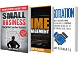 img - for Entrepreneurship: The Definitive Beginner's Bundle: How To Become An Entrepreneur And Master The Fundamentals With These Essential Guides (Entrepreneurship, ... Business, Negotiation, Time Management) book / textbook / text book