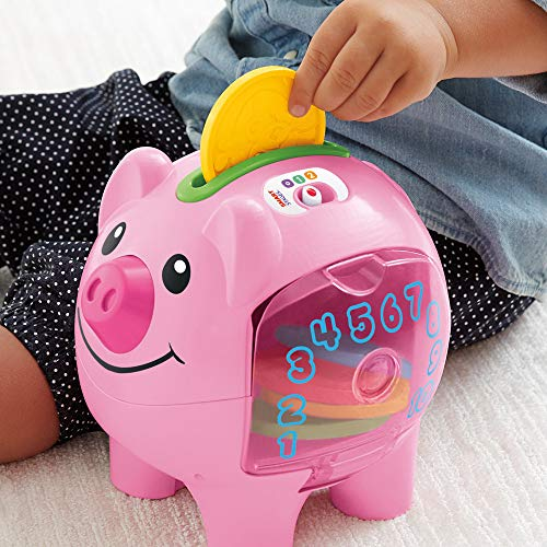 51nHZ4bw%2B1L - Fisher-Price Laugh & Learn Smart Stages Piggy Bank [Amazon Exclusive]