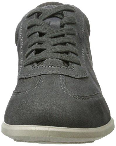 Ecco La Sneaker Mens Chander Nera (senza Luna / Titanio)