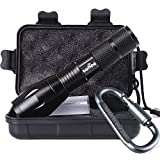 Tactical Portable LED Flashlight 1000 Lumens (Small Image)