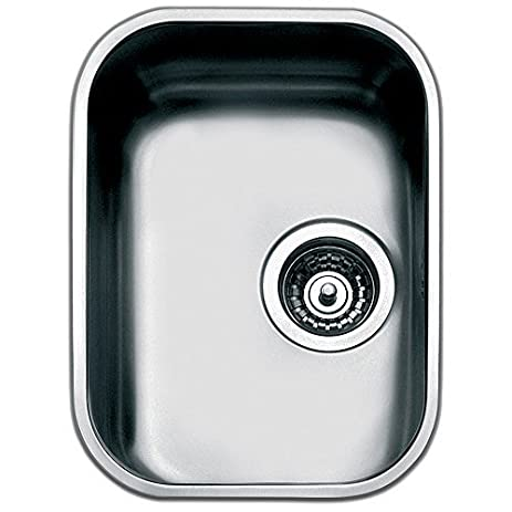 Amazon.com: Smeg UM30 Rectangular Stainless steel Flush-mount sink ...