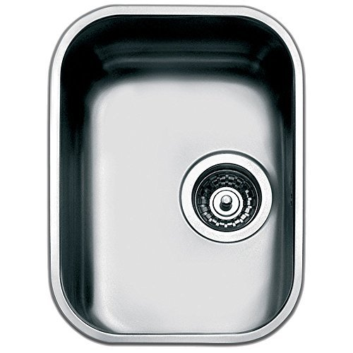 Smeg UM30 Rectangular Stainless steel Flush-mount sink sink - kitchen sinks (Flush-mount sink, Rectangular, Stainless steel, Stainless steel, 300 x 400 mm, 18 cm) by Smeg by Smeg