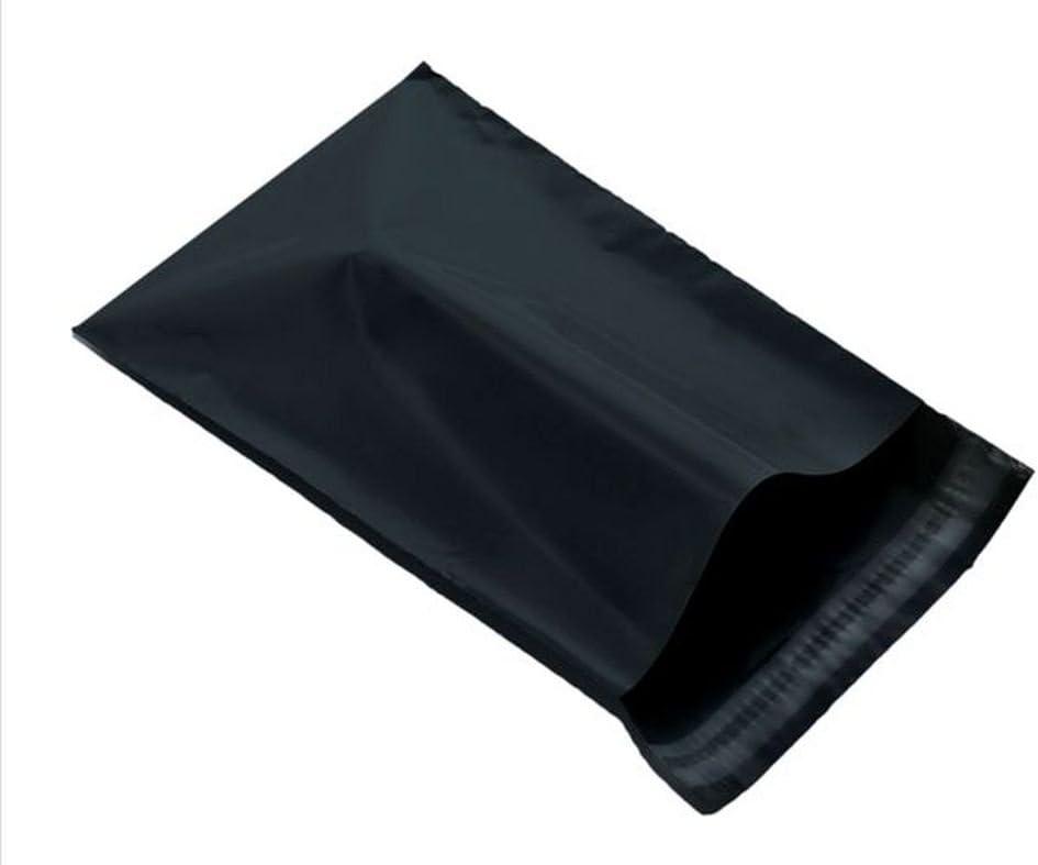 Black 6 x 9 161 x 240mm Mailing Postage Postal Mail Bags 2