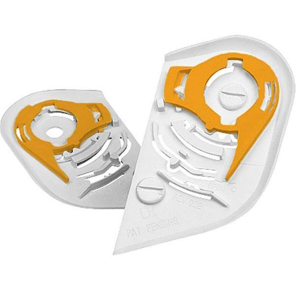 NEW Icon Helmet Shield Pivot Kit for Icon Airframe and Alliance Helmet WHITE FAST SHIP