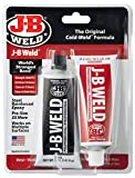J-B Weld 8281 12 Pack 10 oz. Professional Size Steel Reinforced Epoxy Twin Pack, Dark Grey