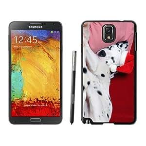Hot Sell Christmas Sleeping Spotty Dog Samsung Galaxy Note 3,Samsung N9005 Black TPU Cover Case
