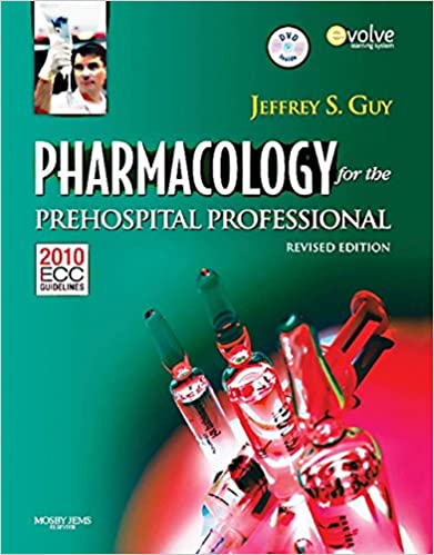 Pharmacology For The Prehospital Professional: Revised Edition by Amazon