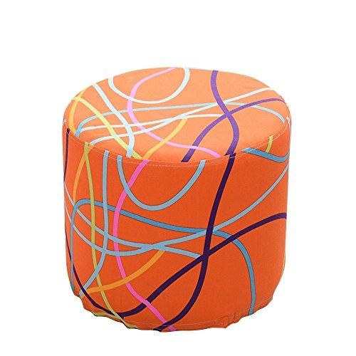 Xin-stool Fabric sofa stool/European shoe bench/low stool/Multifunctional footstool/Stylish stool/Sofa Stool/Coffee Table Stool/Bed stool Fashion dressing stool/3835cm (Color : C) by Xin-stool