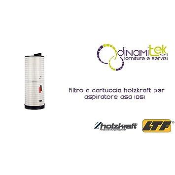 Holzkraft - Filtro de cartucho para aspiradora asa 1051: Amazon.es ...