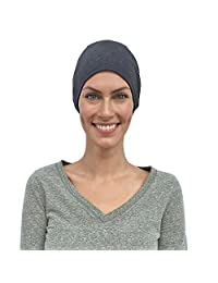 Chemo Caps Women, Cancer Hats, 100% Organic Cotton, Made in Canada