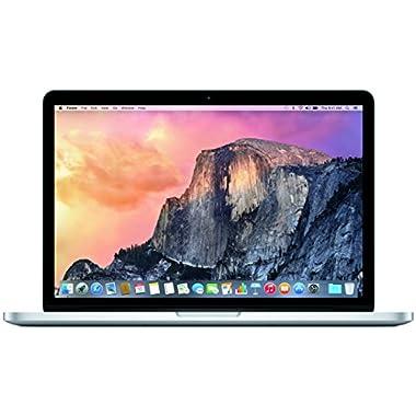 Apple MacBook Pro MF840LL/A 13.3-Inch Laptop with Retina Display (256 GB hard drive, 2.7 GHz dual-core Intel Core i5 processor, 8 GB 1866 MHz LPDDR3 RAM), Silver (2015 version)