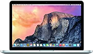 Apple MacBook Pro MF841LL/A 13.3-Inch Laptop with Retina Display (512 GB hard drive, 2.9 GHz dual-core Intel Core i5 processor, 8 GB 1866 MHz LPDDR3 RAM), Silver) (2015 version)