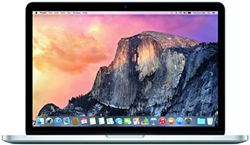 Apple MacBook Pro MF839LL/A 13.3-Inch Laptop with Retina Display (2.7 GHz Intel Core i5 Processor, 8 GB RAM, 128 GB Hard Drive, OS X Yosemite)