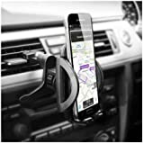 Olixar Phone Holder For Car Vent - Air Vent Dock inVent Pro - 360 Degree Rotation - Universal Car Mount