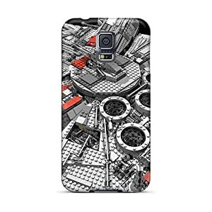 New Style Tpu S5 Protective Case Cover/ Galaxy Case - Star Wars Spaceship Millenium Falcon