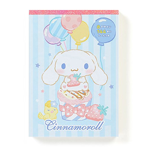 Sanrio Characters Deluxe Memo Pad Made in Japan1 piece per order (Cinnamoroll cake celebration)
