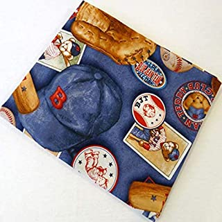 product image for SHEETWORLD.COM Baseball Bear Cotton Baby Pillow Case