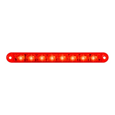 """GG Grand General 74762 Light Bar (6-1/2"""" Pearl Red 8LED, 3 Wires): Automotive"""
