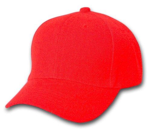 Plain Summer Baseball Cap Hat- Red a49a65c193e
