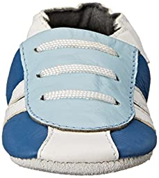 SkidDERS Sneaker LT Slipper (Infant), Blue, 12-18 Months M US Infant