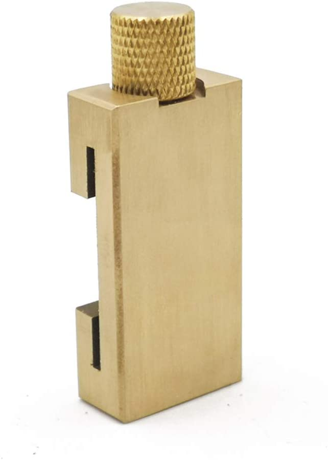 Stahl Lineal Locator Holzbearbeitung Winkelschreiber Messing Position Block
