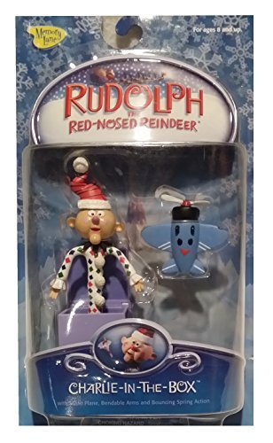 Rudolph the Red-nosed Reindeer Charlie in the Box Action Figure