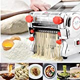 Hengwei 750W 110V Automatic Electric Pasta Machine Maker Press Noodles Machine Producing (Noodle Width 24CM,Knife Length 180cm,Noodle Width 3mm / 9mm)