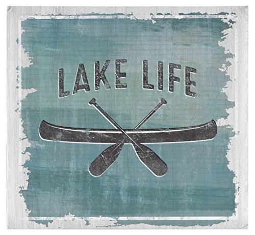 MCS MBI 13.5x12.5 Inch Lake Life Theme Scrapbook Album with 12x12 Inch Pages (860122) Vacation Scrapbook Albums