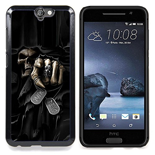 Smartphone Protective Case Slim PC Hard Cover Case for HTC One A9 / CECELL Phone case / / Death Grim Reaper Skull Evil /