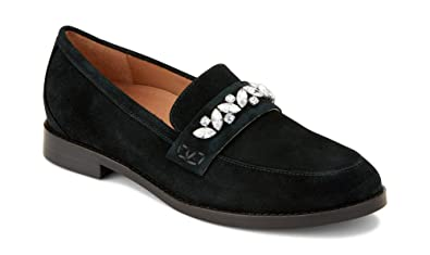 035bbaf8ff9 Vionic Women s Wise Avvy Loafer - Ladies Slip-on with Concealed Orthotic  Support Black 5