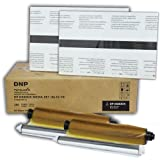 DNP 8x10'' Duplex Ribbon Media Kit for DS80DX Printer, 65 Prints Per Pack , 2 Pack