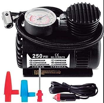 Krawehl Mini Compresor de Aire para Coche 12v 80w: Amazon.es: Coche y moto