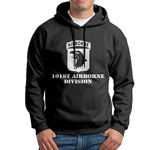 Airborne Hooded Sweatshirt (Men's Classic Fashion Army 101st Airborne Adult Hoodie)