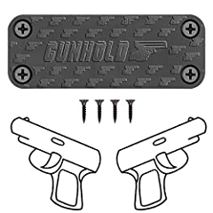 GUNHOLD Magnet Gun Mount is all designed and produced by ourselves, it allows quick draw and safe storage of handguns, rifles and other guns. We have revolutionized the way you can mount and store your firearms for easy and quick acces...