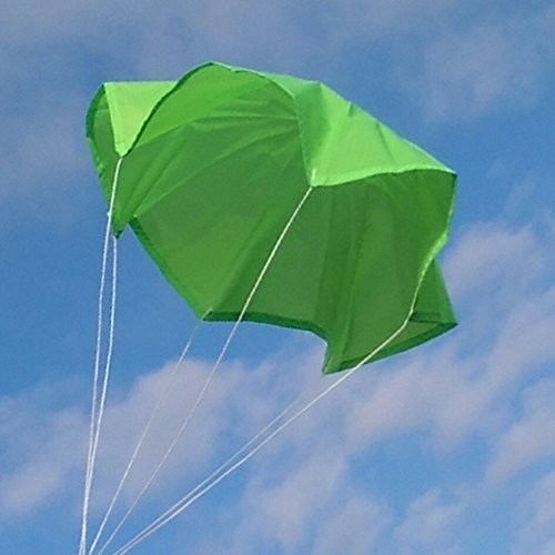 Top Flight Parachute Neon Green 15″ Rip Stop Nylon PAR-15