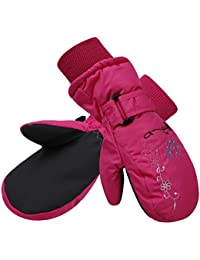 Kids Boys Girls Thinsulate Lined Waterproof Windproof Ski...