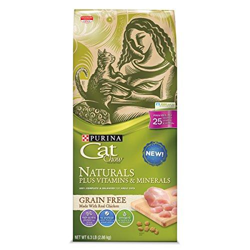 Purina Cat Chow Naturals Grain-Free Plus Vitamins & Minerals