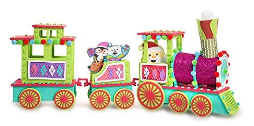 Big 3 Car Santa Train 3D Structure Kit Craft 3D Foam Kit 182 Pieces Christmas
