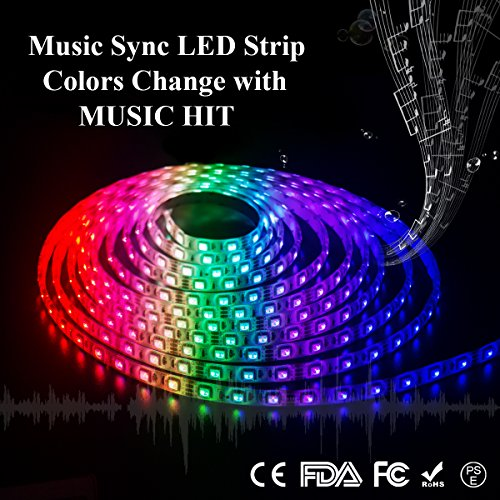 Led Strip Sound Activated Light Strip - 8