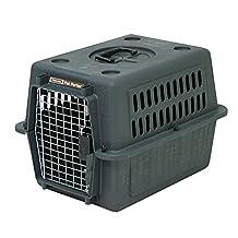 Petmate Aspen Pet Pet Porter, UP TO 15 LBS, Dark Gray