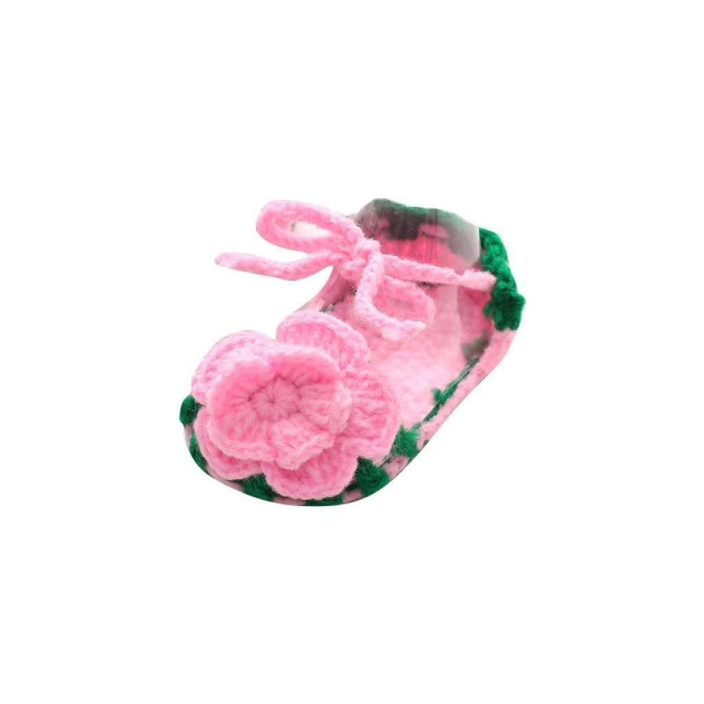 Zapatos Bebé niña primeros pasos ❤ Amlaiworld Zapatos rosas de ...