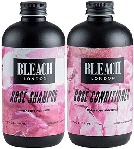 - Bleach London Rose Shampoo x 250ml & Bleach London Rose Conditioner x 250ml by Bleach London