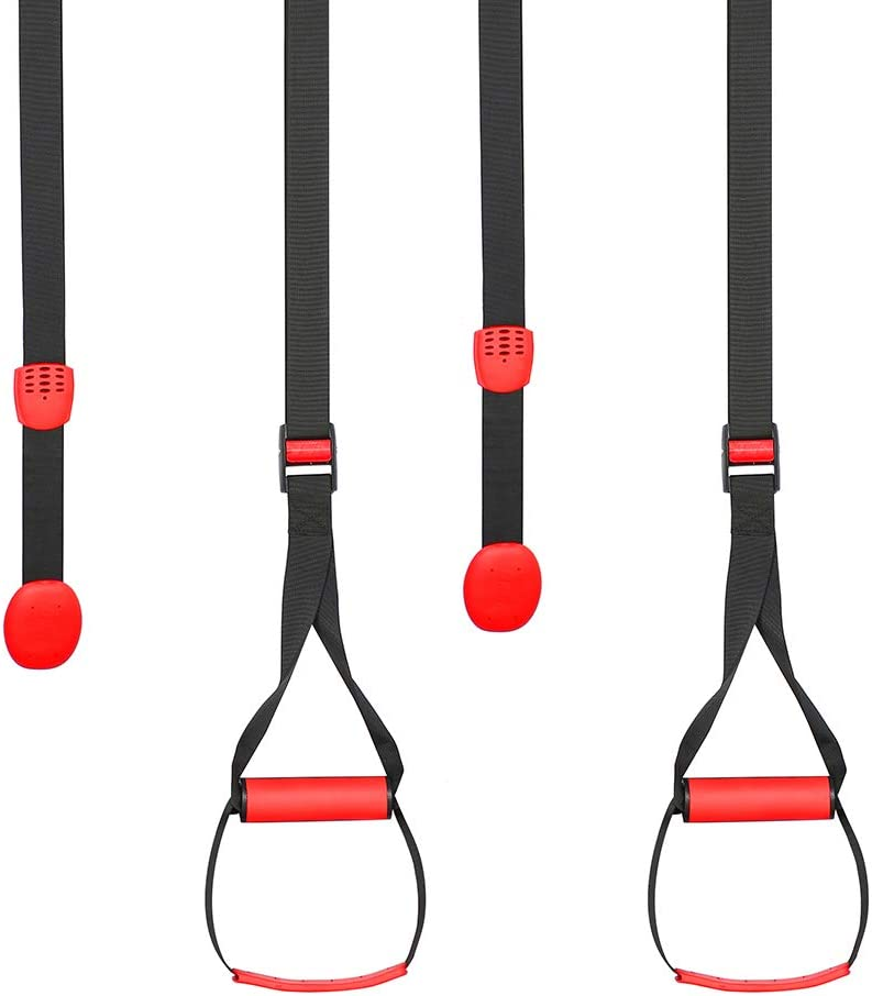 FCL Home Fitness Trainer Suspension Straps Using Bodyweight Outdoor Indoor use