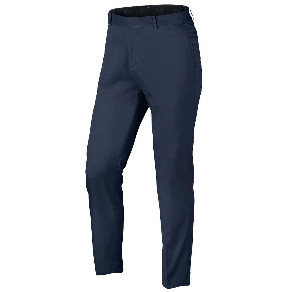 NIKE Men's Flat Front Golf Pants, Midnight Navy/Midnight Navy, Size 28/32