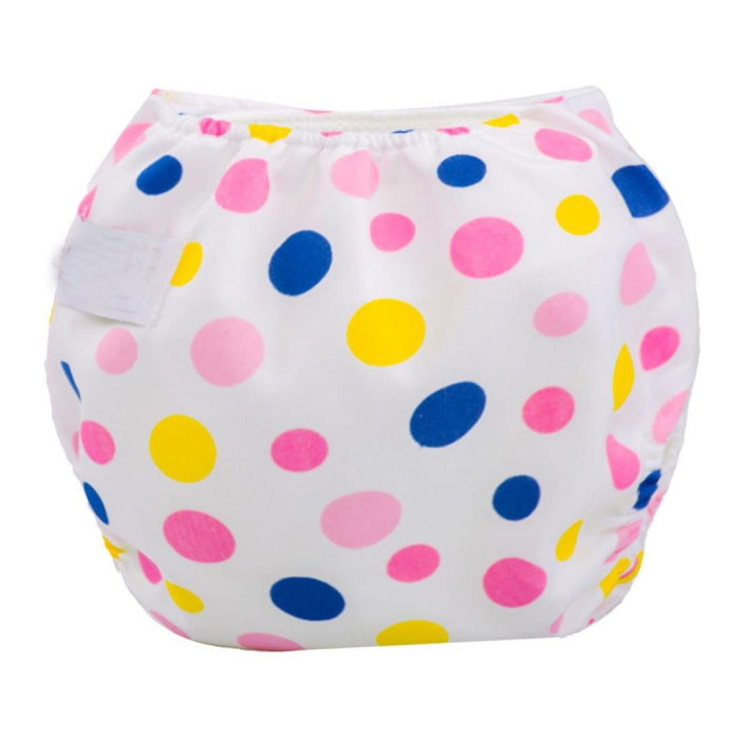 Ouneed Cute Baby Girls Baby Boys Cloth Diaper Cover Adjustable Reusable Washable Nappy