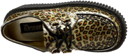 208 Demonia Gltr Gold Pat Creeper Cheetah O77TwZpBq