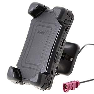 Bury CC 9068 - Kit de manos libres con controlador de voz por Bluetooth y función de carga